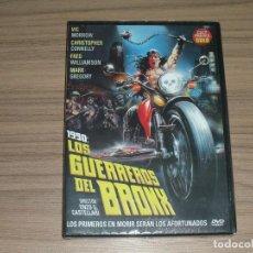 Cine: 1990 LOS GUERREROS DEL BRONX DVD NUEVA PRECINTADA. Lote 288867283
