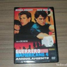 Cine: EL GUERRERO AMERICANO 4 ANIQUILAMIENTO DVD MICHAEL DUDIKOFF NUEVA PRECINTADA. Lote 251152665