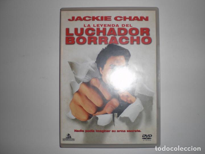 La Leyenda Del Luchador Borracho Dvd Jackie Ch Comprar Películas En Dvd En Todocoleccion 61780396