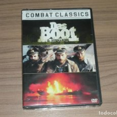 Cine: DAS BOOT EL SUBMARINO VERSION INTEGRA DVD WOLFGANG PETERSEN NUEVA PRECINTADA COLUMBIA. Lote 181430956