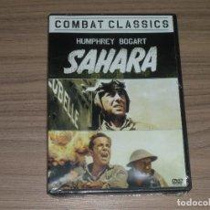 Cine: SAHARA DVD HUMPHREY BOGART NUEVO PRECINTADO. Lote 222135315