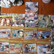 Cine: COLECCION DVD JOHN WAYNE MAS 6 DVD CINE BÉLICO. TOTAL 16 DVD. Lote 61825848