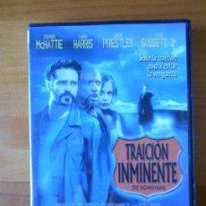 Cine: DVD TRAICION INMINENTE (THE HIGHWAYMAN) - STEPHEN MCHATTIE (D3). Lote 61893956