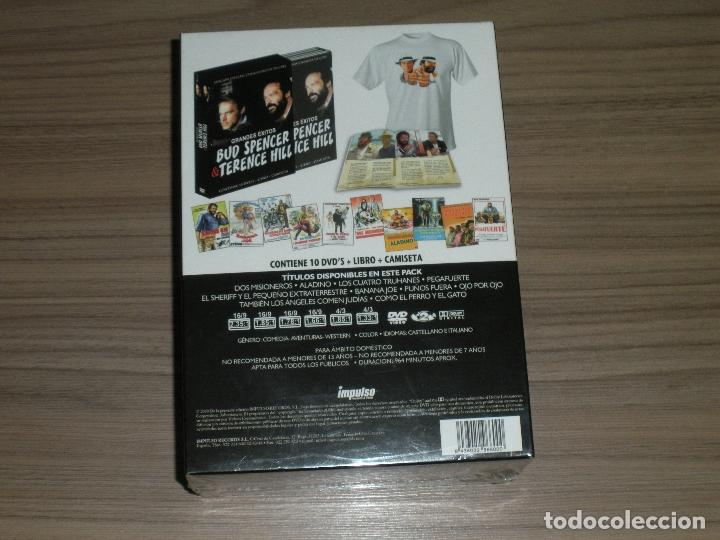 Cine: Coleccion BUD SPENCER & TERENCE HILL Edicion Limitada 10 DVD + Libro + Camiseta NUEVO NO PRECINTADO - Foto 2 - 127976478