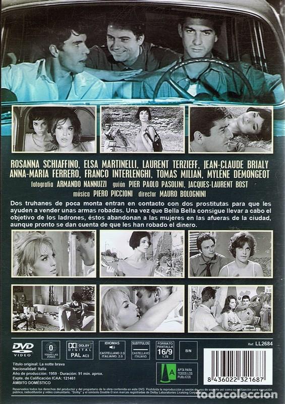 Cine: DVD LA NOCHE BRAVA (LA NOTTE BRAVA) LAURENT TERZIEFF - Foto 2 - 105481268