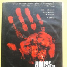 Cine: HOUSE ON HAUNTED HILL **DE WILLIAM MALONE CON GEOFFREY RUSH, FAMKE JANSSEN. Lote 61996216