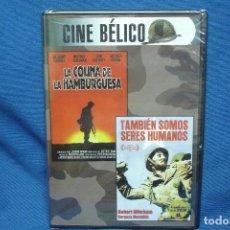 Cine: CINE BÉLICO - DVD CON 2 PELICULAS - PRECINTADA. Lote 62053192