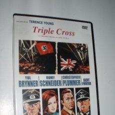 Cine: CINE BELICO DVD TRIPLE CROSS. Lote 62108324