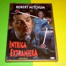 Cine: INTRIGA EXTRANJERA / ROBERT MITCHUM / PRECINTADA. Lote 62159228