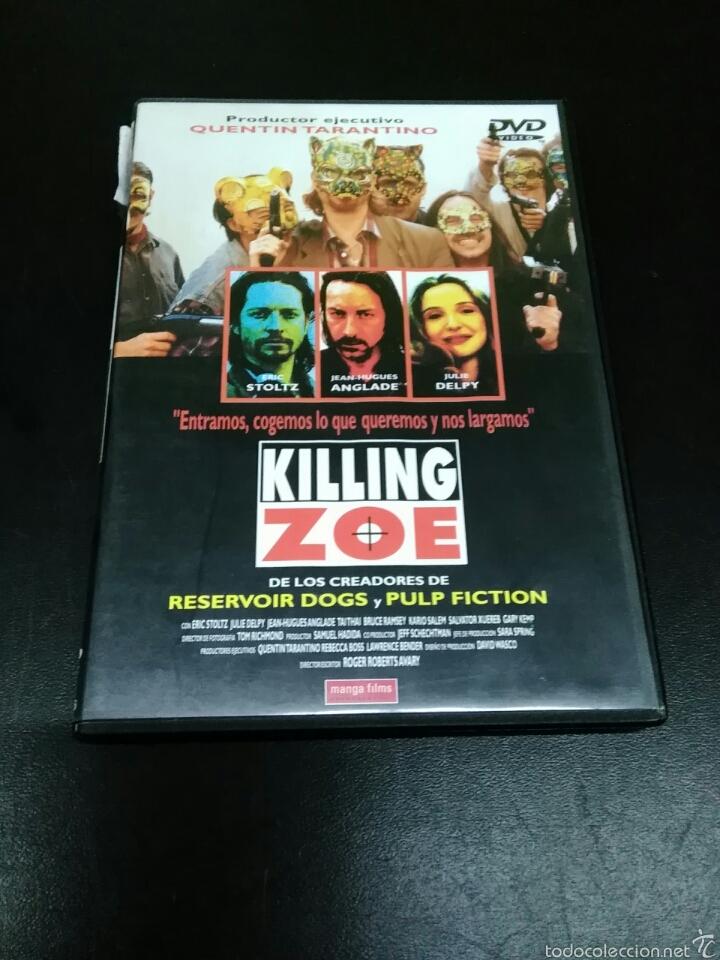 KILLING ZOE DVD !!! DESCATALOGADISIMA!!!!! (Cine - Películas - DVD)