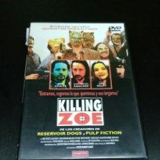 Cine: KILLING ZOE DVD !!! DESCATALOGADISIMA!!!!!. Lote 62211372