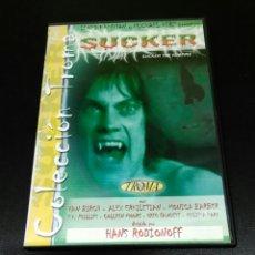 Cine: SUCKER DVD !!! DESCATALOGADISIMA. Lote 62216740