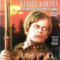 Cine: DVD BLACK KILLER KLAUS KINSKY . Lote 62228936