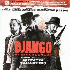 Cine: DVD DJANGO DESENCADENADO JAMIE FOXX. Lote 62239164