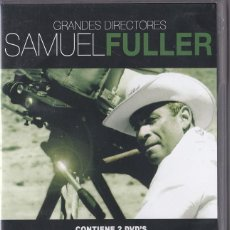 Cine: SAMUEL FULLER - EL KIMONO ROJO / BAJOS FONDOS - PACK 2 DVDS. Lote 62289988