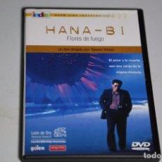 Cine: DVD HANA-BI FLORES DE FUEGO - KATESHI KITANO - DESCATALOGADO. Lote 62311768