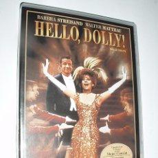 Cine: PELICULA MUSICAL DVD BARBARA STREISAND,HELLO DOLLY,. Lote 59933923