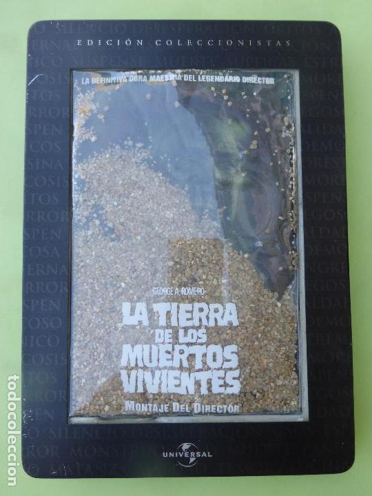LA TIERRA DE LOS MUERTOS VIVIENTES - (EDICIÓN COLECCIONISTA CON DE CAJA METAL + TIERRA ) - DVD (Cine - Películas - DVD)