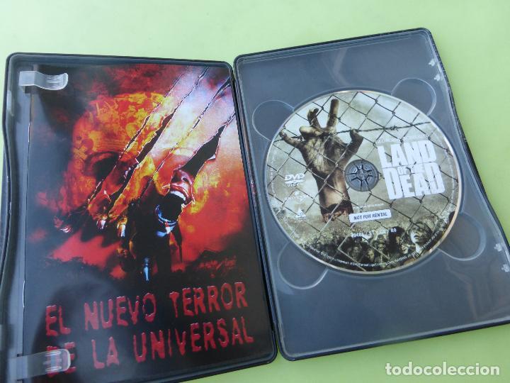 Cine: LA TIERRA DE LOS MUERTOS VIVIENTES - (Edición Coleccionista con de caja Metal + tierra ) - DVD - Foto 3 - 62429340