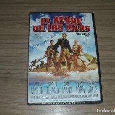 Cine: EL HEROE DE LAS ISLAS DVD JAMES MASON NEVILLE BRAND WARREN OATES NUEVA PRECINTADA. Lote 187464138