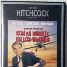 Cine: CON LA MUERTE EN LOS TALONES DIRIGIDA POR ALFRED HITCHCOCK. Lote 62890672