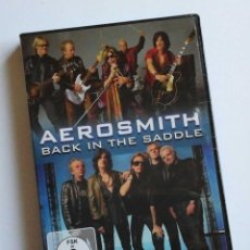 Cine: AEROSMITH, BACK IN THE SADDLE. DVD MUSICAL, OCASION. Lote 62955600