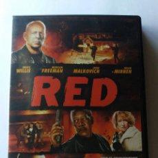 Cine: RED (DVD) • BRUCE WILLIS. Lote 63019336