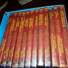 Cine: LOS SIMPSON. CLASICOS.- 14 DVD. NUEVOS PRECINTADOS DE 4 CAPITULOS. Lote 63122996