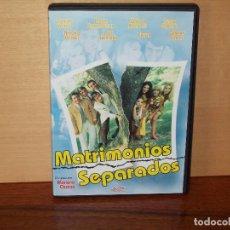 Cine: MATRIMONIOS SEPARADOS - CONCHA VELASCO - JOSE SACRISTAN -DIRIGIDA POR MARIANO OZORES-DVD. Lote 63124076