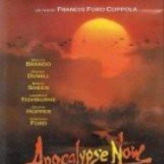 Cine: DVD. APOCALYPSE NOW REDUX FRANCIS FORD COPOLLA MARLON BRANDO. Lote 63278892