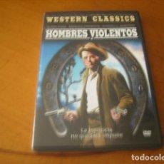 Cine: HOMBRES VIOLENTOS : AUDIO CASTELLANO COMO NUEVA DVD. Lote 63326792