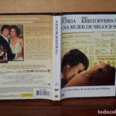 Cine: UNA MUJER DE NEGOCIOS - JANE FONDA - KRIS KRISTOFFERSON - DE ALAN J.PAKULA - DVD. Lote 205115080