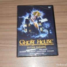 Cine: GHOST HOUSE LA CASA FANTASMA DVD TERROR NUEVA PRECINTADA. Lote 266309788