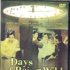 Cine: DAYS OF BEING WILD DVD (DIAS SALVAJES).WONG KAR WAI Y SUBTITULOS EN CASTELLANO...QUE NO ESCAPE !. Lote 271842338