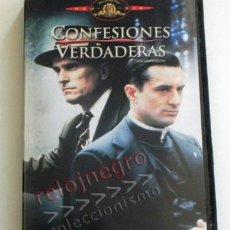 Cine: CONFESIONES VERDADERAS - DVD PELÍCULA SUSPENSE - ROBERT DE NIRO - DUVALL - CRIMEN - IGLESIA CORRUPTA. Lote 64119471