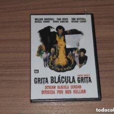 Cine: GRITA BLACULA GRITA DRACULA NEGRO 2 DVD NUEVA PRECINTADA. Lote 278678508