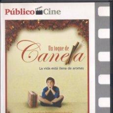Cine: UN TOQUE DE CANELA. TASSOS BOULMETIS. DVD PUBLICO 2008. Lote 64371995