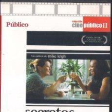 Cine: SECRETOS Y MENTIRAS. MIKE LEIGH. DVD PUBLICO 2008. Lote 64373791