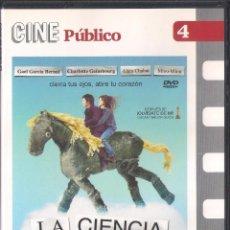 Cine: LA CIENCIA DEL SUEÑO. MICHEL GONDRY. DVD PUBLICO 2008. Lote 64374451