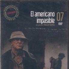 Cine: EL AMERICANO IMPASIBLE - PHILLIP NOYCE - DVD NUEVO PRECINTADO 2008 EL MUNDO. Lote 64423819
