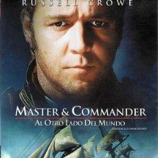 Cine: DVD MASTER & COMMANDER RUSSELL CROWE . Lote 64460079