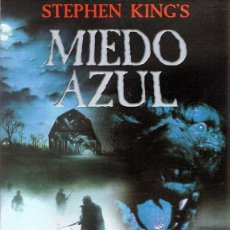 Cine: DVD MIEDO AZUL STEPHEN KING . Lote 64460855