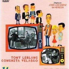 Cine: DVD HISTORIAS DE LA TELEVISIÓN TONY LEBLANC . Lote 64471679