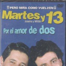 Cine: MARTES Y TRECE - POR EL AMOR DE DOS - DVD 2003 NUEVO PRECINTADO. Lote 64473135