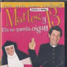 Cine: MARTES Y TRECE - ELLA NO QUERÍA, OIGA!! - DVD 2003 NUEVO PRECINTADO. Lote 64473507