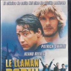 Cine: LE LLAMAN BODHI (POINT BREAK). LE LLAMAN BODHI - KATHRYN BIGELOW - DVD NUEVO PRECINTADO 2005 FILMAX. Lote 64516067