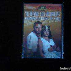 Cine: SALOMON Y LA REINA DE SABA (DVD NUEVO PRECINTADO ). Lote 153735945
