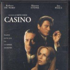 Cine: CASINO - MARTIN SCORSESE - DVD UNIVERSAL 1999. Lote 64978559