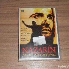 Cine: NAZARIN DVD DE LUIS BUÑUEL MARGA LOPEZ FRANCISCO RABAL NUEVA PRECINTADA. Lote 213729757