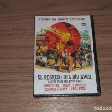 Cine: EL REGRESO DEL RIO KWAI DVD EDWARD FOX TIMOTHY BOTTOMS NUEVA PRECINTADA. Lote 183995405